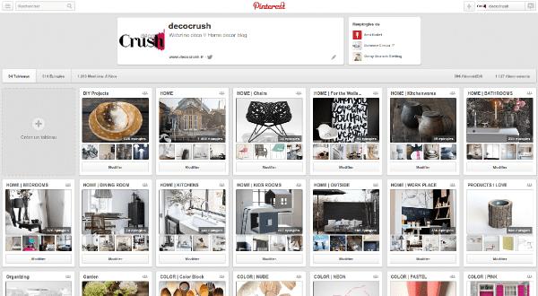 Inspiration : Pinterest, épingler c'est partager !   www.decocrush.fr