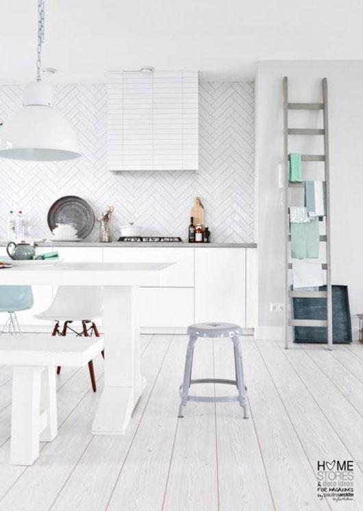 25 cuisines de rêve pour s'inspirer…#blanc