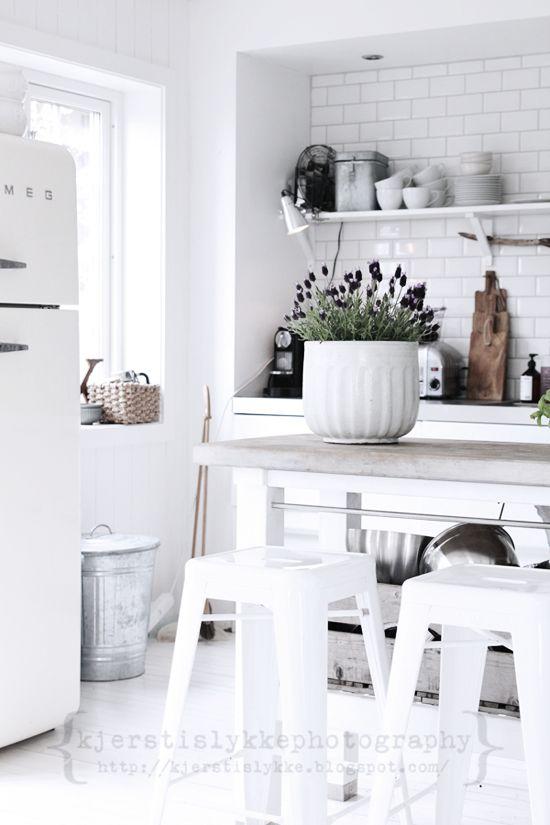 25 cuisines de rêve pour s'inspirer...#blanc | www.decocrush.fr