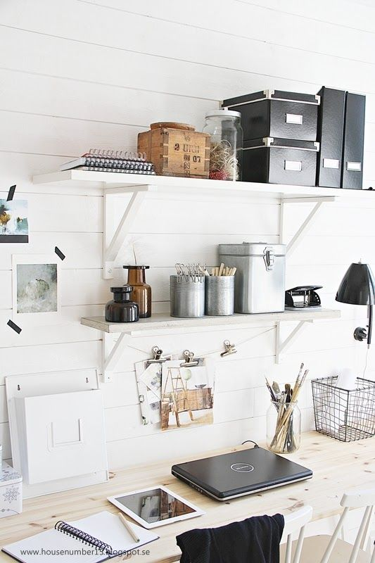 5 astuces déco pour un bureau fonctionnel à petits prix | www.decocrush.fr