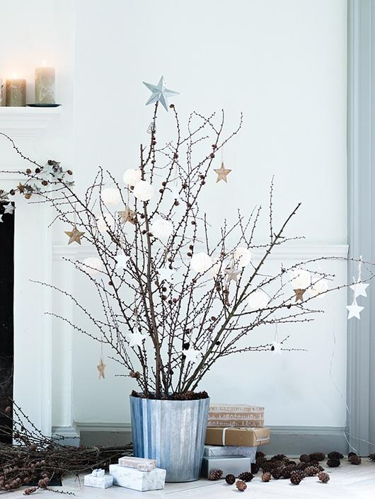 Inspiration pour une déco de Noël…très Nature !
