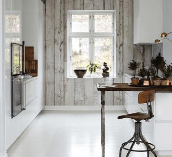 Pour ou contre : Le papier peint dans la cuisine…?
