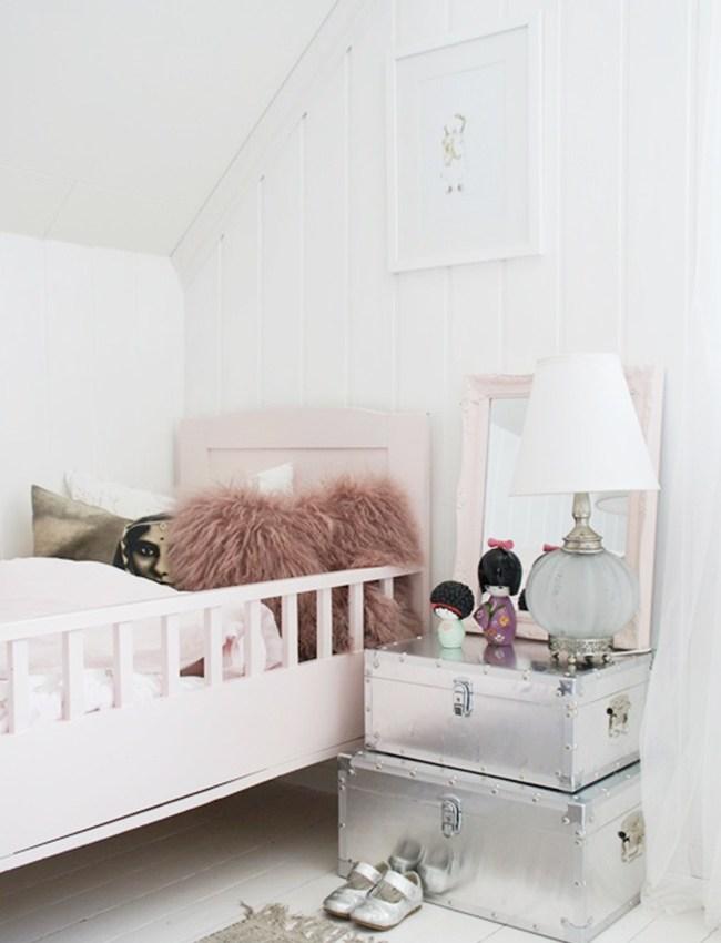 { Get the look } Une chambre d'enfant girly et vintage