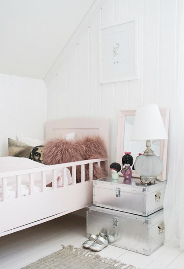 { Get the look } Une chambre d'enfant girly et vintage | www.decocrush.fr