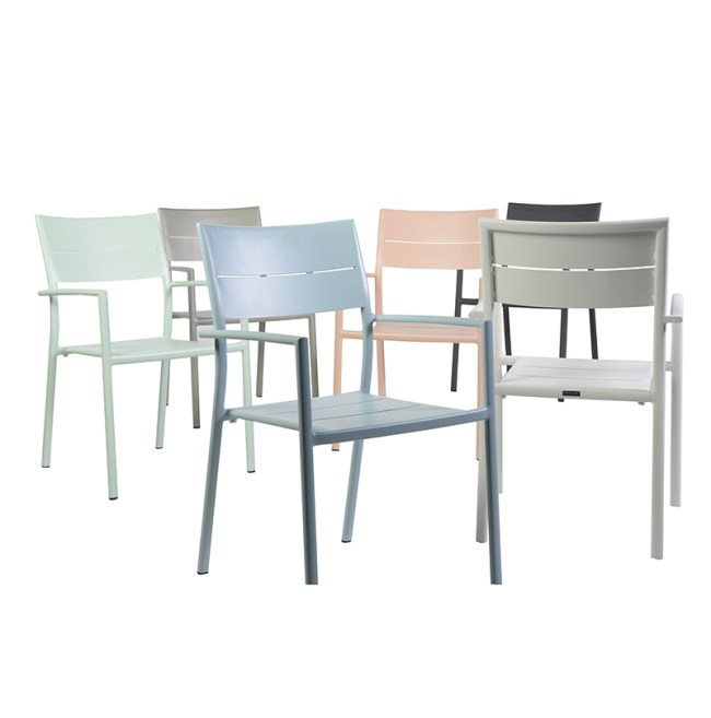 fauteuil de jardin pastel Max & Luuk