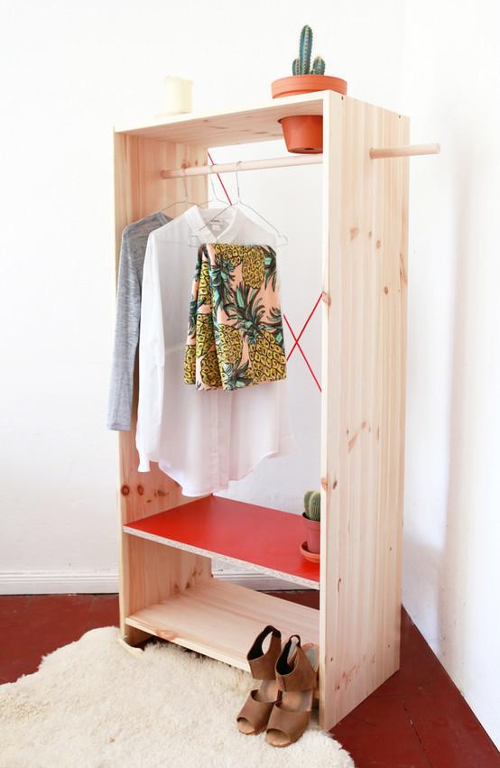 DIY : Une armoire sur mesure et fleurie !