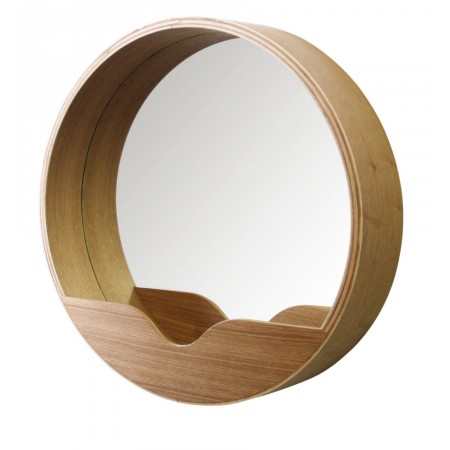 Joli miroir rond