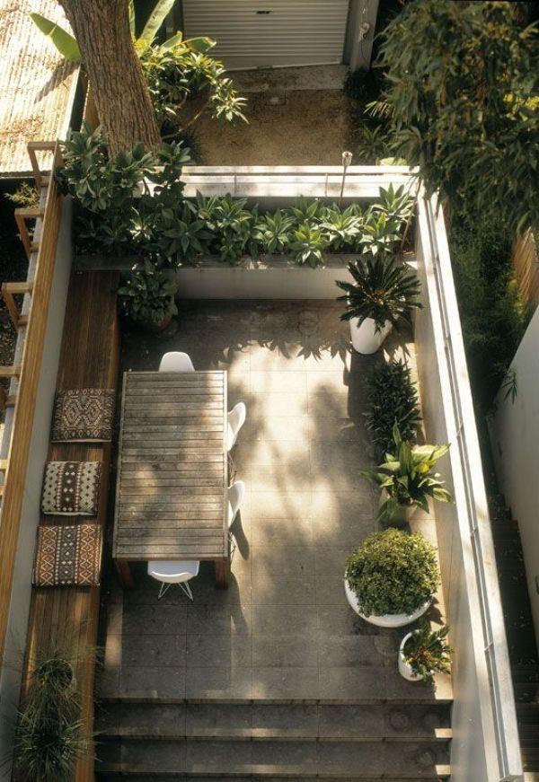 3 astuces pour transformer sa terrasse (ou son balcon) en havre de paix... | www.decocrush.fr - @decocrush | Sutherland Street, Paddington Stanic Harding Architecture