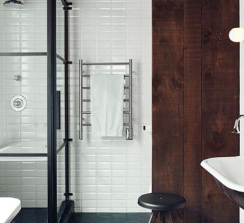 Crush | Une paroi de douche modulable au look industriel