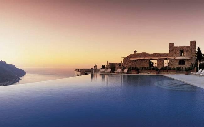 Voyages | Les 5 plus jolies piscines avec vue d'Europe - Hotel Caruso, Italy