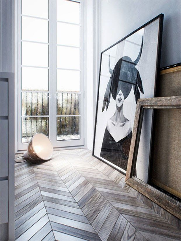 On the radar | Les sols en chevrons sur @decocrush - www.decocrush.fr