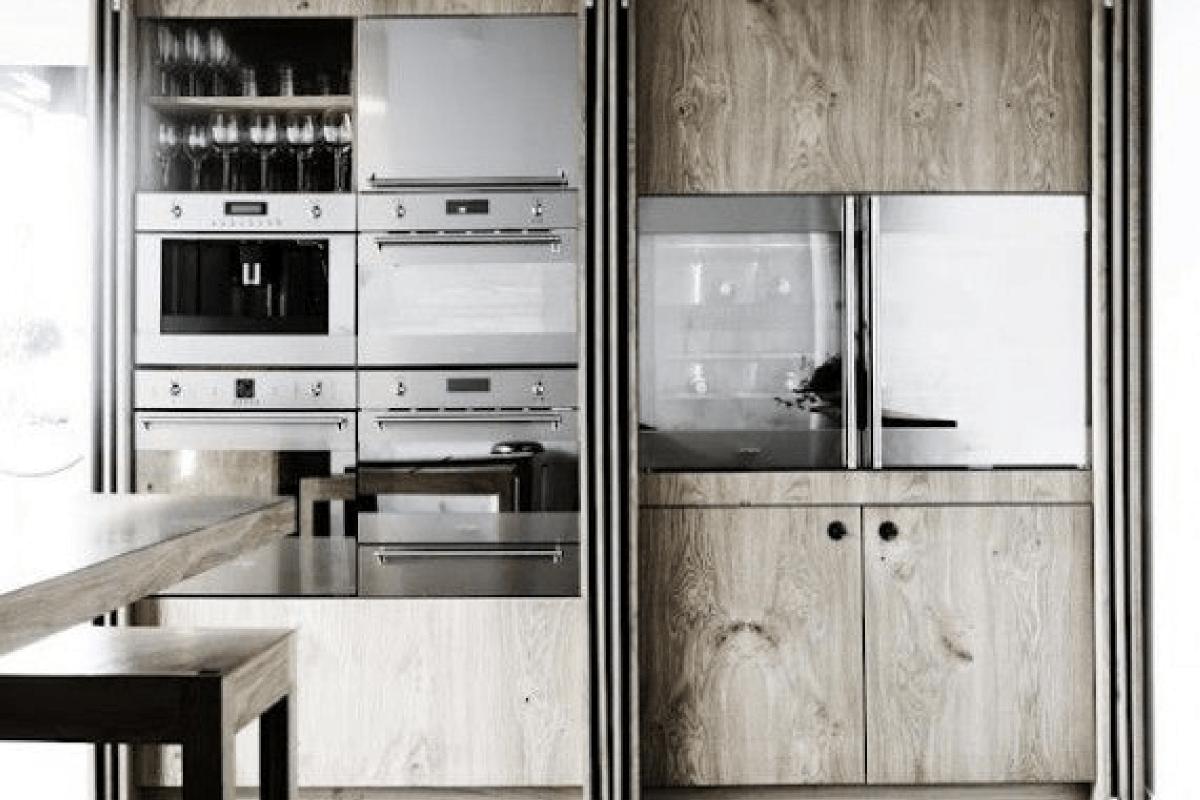 Une cuisine intégrée, c'est tellement chic !
