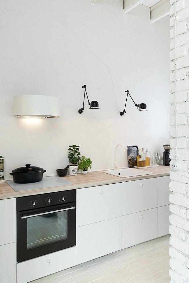 Pour ou contre ? Les suspensions dans la cuisine...Des alternatives tout aussi jolies ! @decocrush - www.decocrush.fr