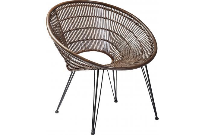 Fauteuil en rotin très chic : Ko phi phi de Kare Design chez Declikdeco
