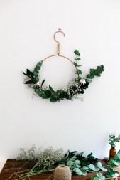 DIY : 12 couronnes de Noël modernes et minimalistes à fabriquer soi-même chez Freckle and Wulff