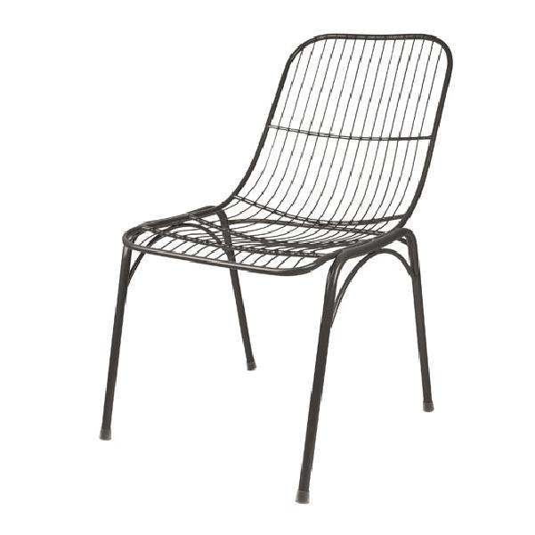 Chaises De Jardin En Metal Noir 169