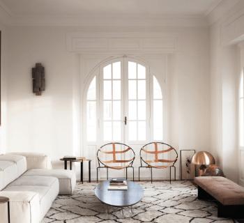 Un appartement moderne et minimaliste à Rome