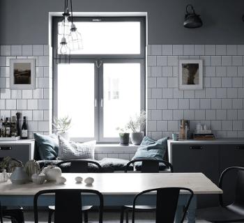 Un intérieur scandinave plein de caractère