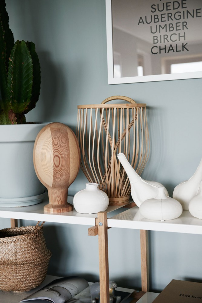 Mix : vert et touche de bois et de bambou