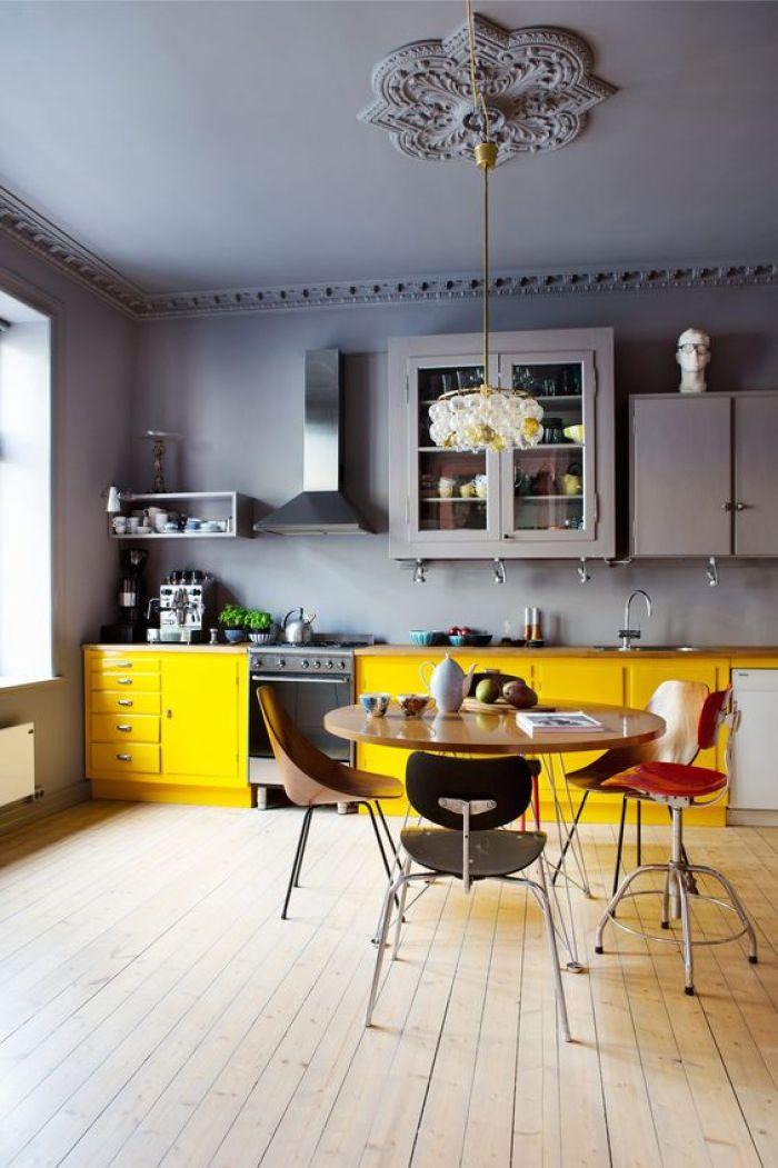 Jolie cuisine jaune