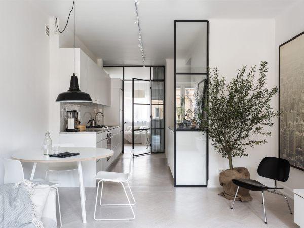 Un petit appartement scandinave tout blanc sur www.decocrush.fr