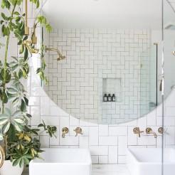 Salle de bain cozy