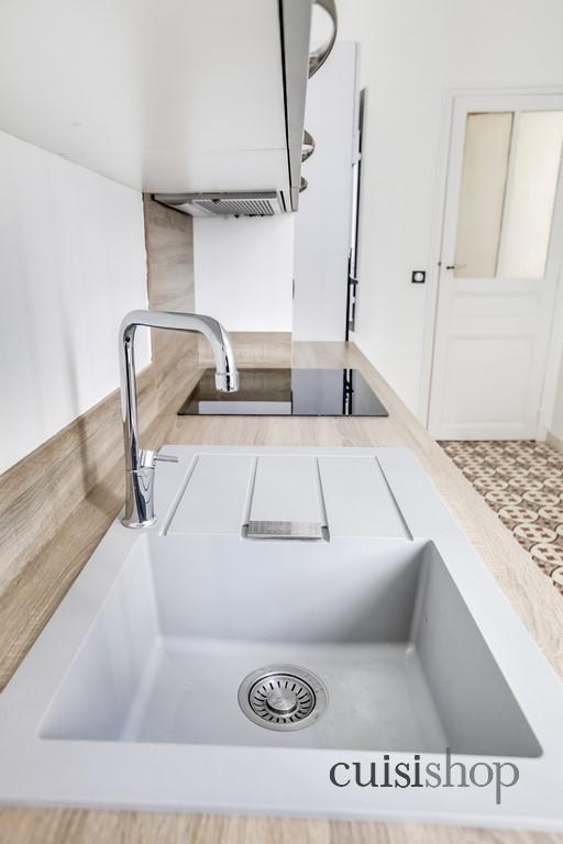 evier en resine gris. Black Bedroom Furniture Sets. Home Design Ideas