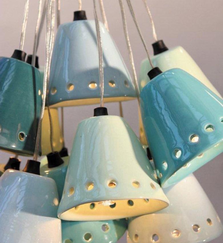 Les luminaires en céramique d'Henriette Jansen