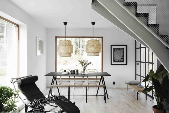 Une grande maison scandinave simple mais cozy sur @decocrush - www.decocrush.fr