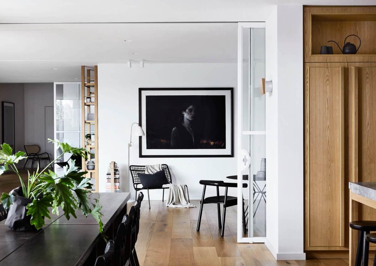 Trio de teintes pour cette maison moderne australienne