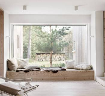 Visite déco : Une maison ouverte sur la nature