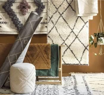 Crush : les tapis style berbère aux coloris originaux