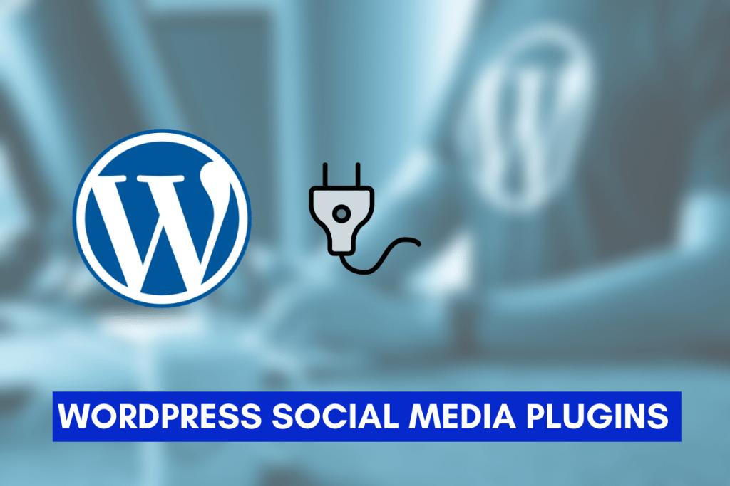 WordPress Social Media Plugin