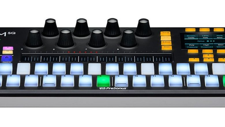 PreSonus' Atom SQ integrates with both Studio One and Ableton Live