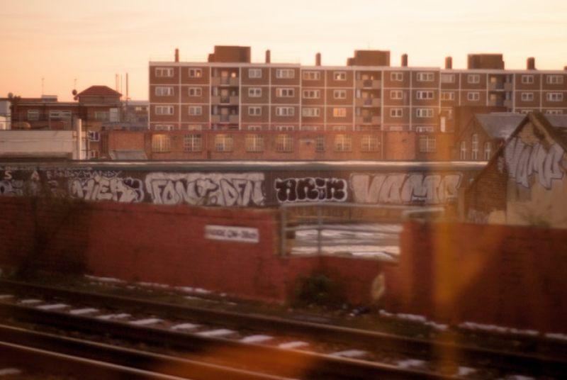 Train View, London, 2007. © Georgina Cook