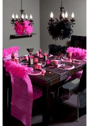 Deco Table Noir Et Rose Cool Deco Chambre Gris Et Rose