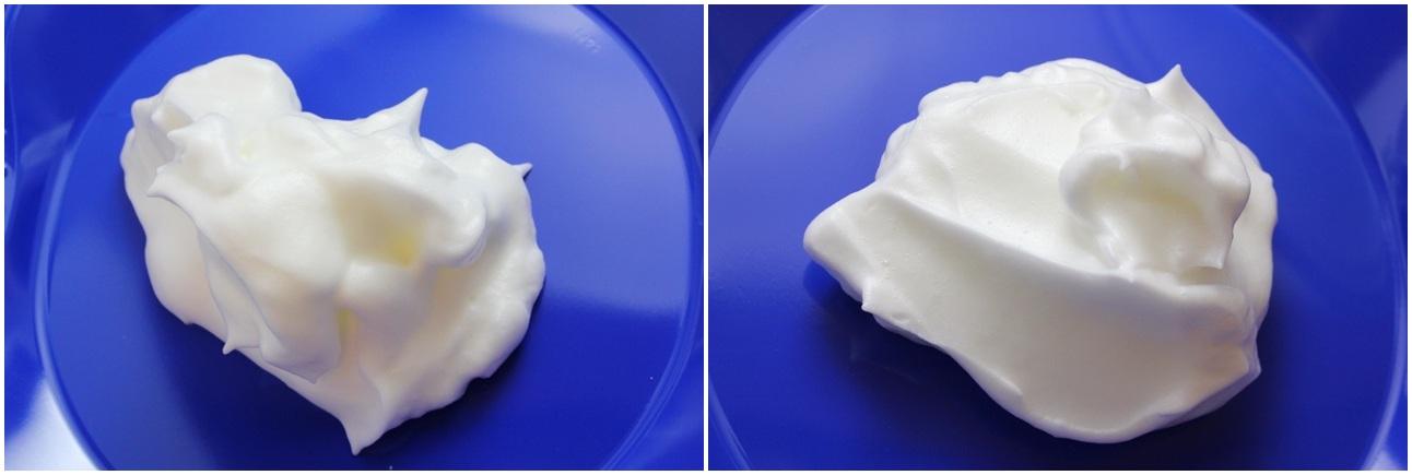 Egg Foams (cold; room temp)