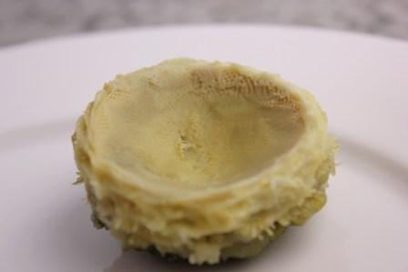 Artichoke heart, cooked