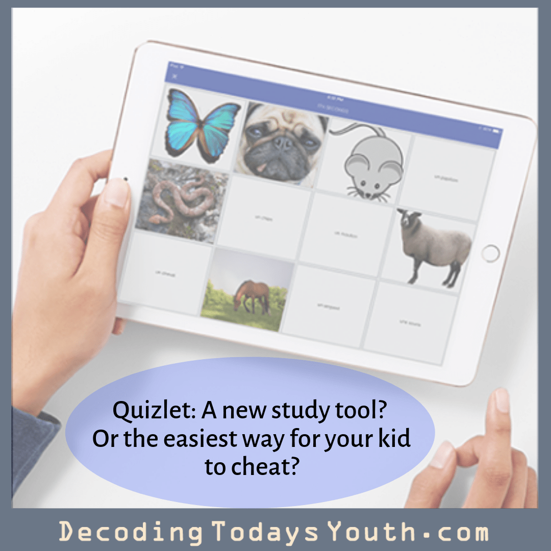 Quizlet A New Study Tool Or The Easiest Way For Your Kid To Cheat