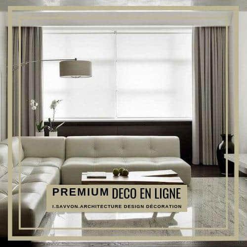 Pour réussir la transformation de votre appartement, la décoration intérieure de votre maison, votre projet décoration en ligne ou d'aménagement sur mesure, choisissez Déco en Ligne Premium et VIP d'Irina SAVVON