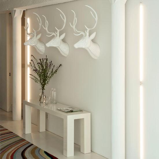 Modern-white-hallway