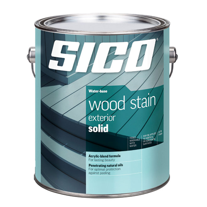 Exterior White Stain For Wood: Decogirl Montreal