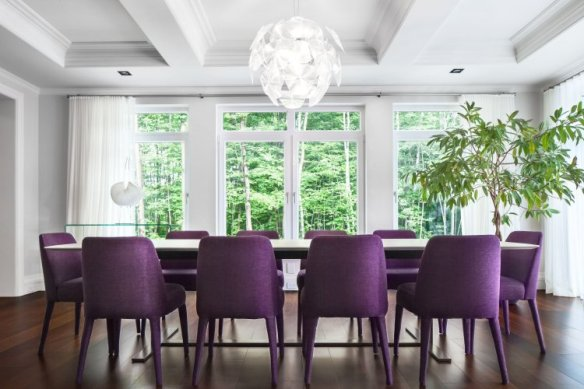 purple-chairs-white-table-dining-room-ice-cad-com-purple-chairs-white-table-dining-room