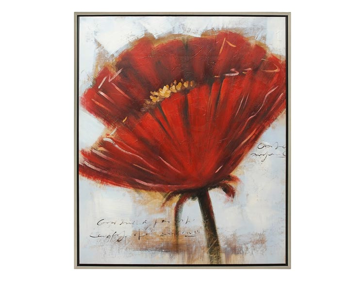 Tableau coquelicot ikea pjtteryd picture poppyfield ii for Meuble alibaba montreal