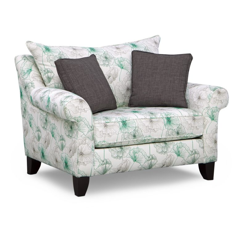 Half And Patterned Chair