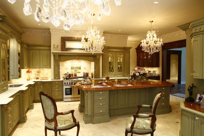 Kitchen Interior Wall Design