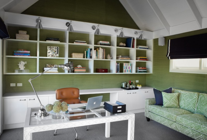 Home Office Decoration For Crisp Yet Comfortable Ambiance