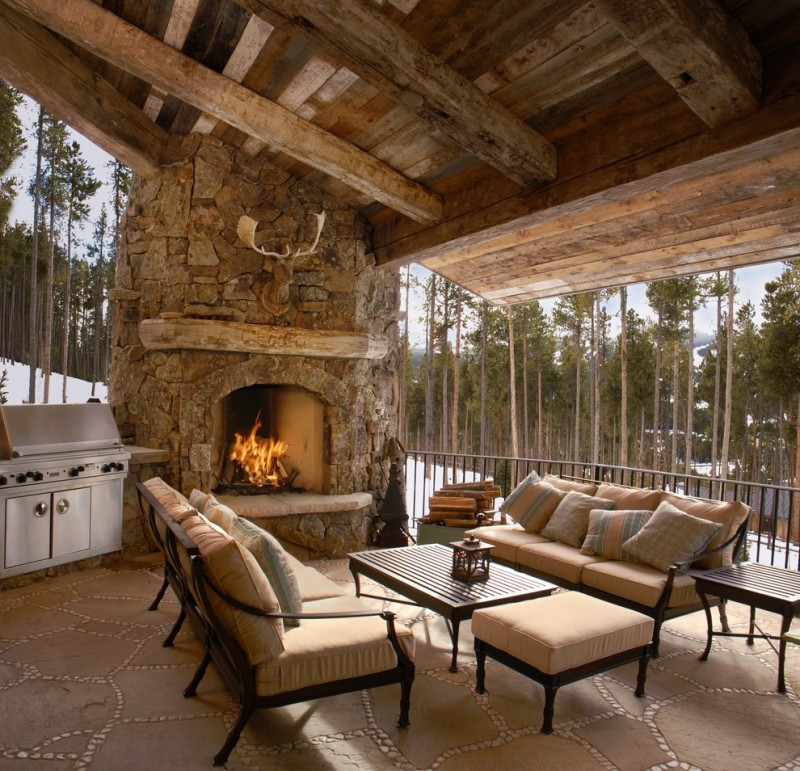 Outdoor Corner Fireplace A Great Warm Spot Outside Your