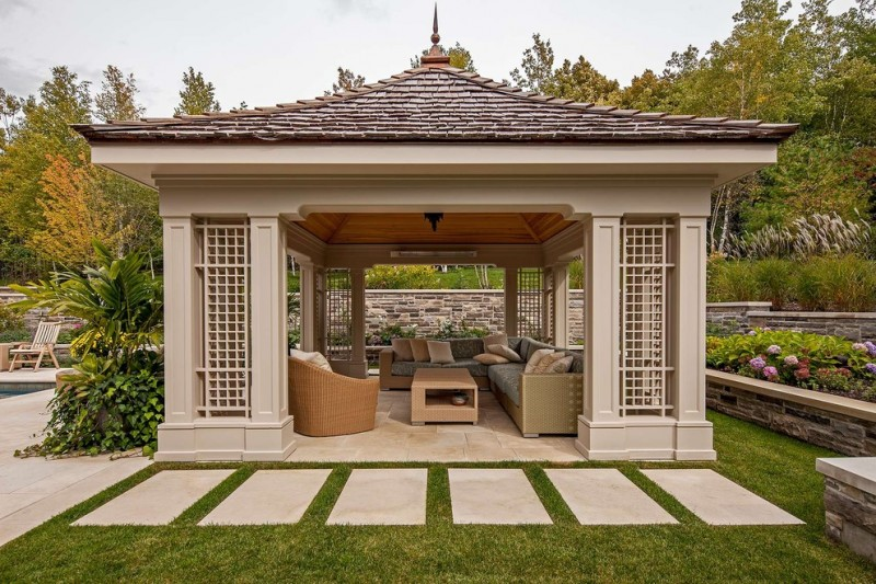 Fascinating Square Gazebo Plans To Make Decohoms