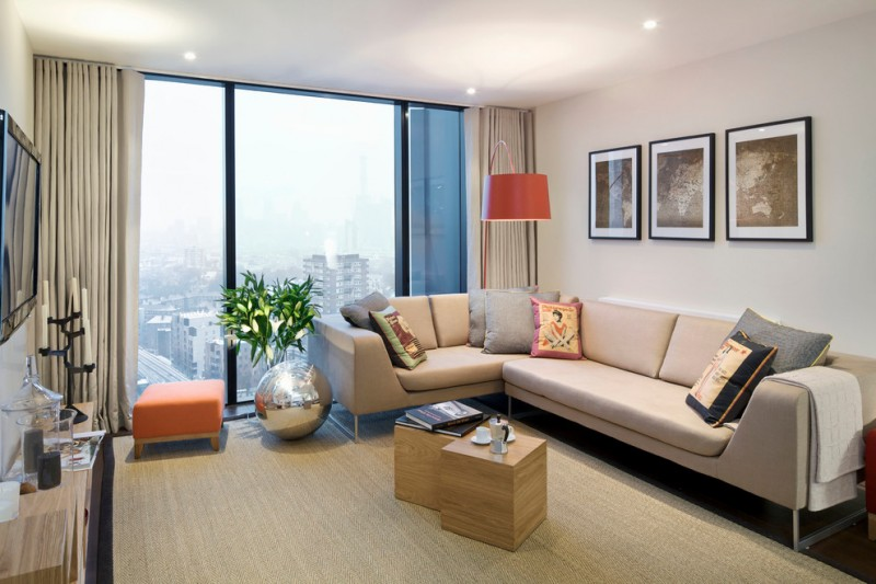 Complete Your Apartment With These Stylish Living Room Ideas Decohoms